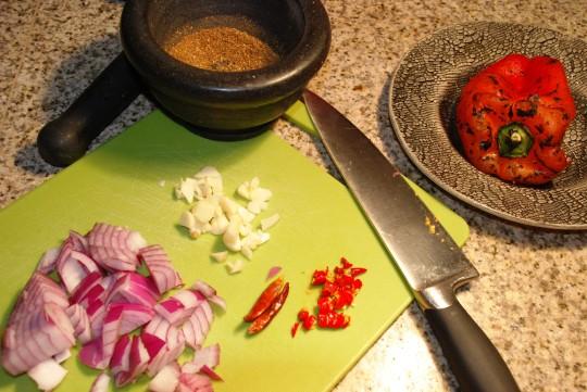 ingredients harrissa