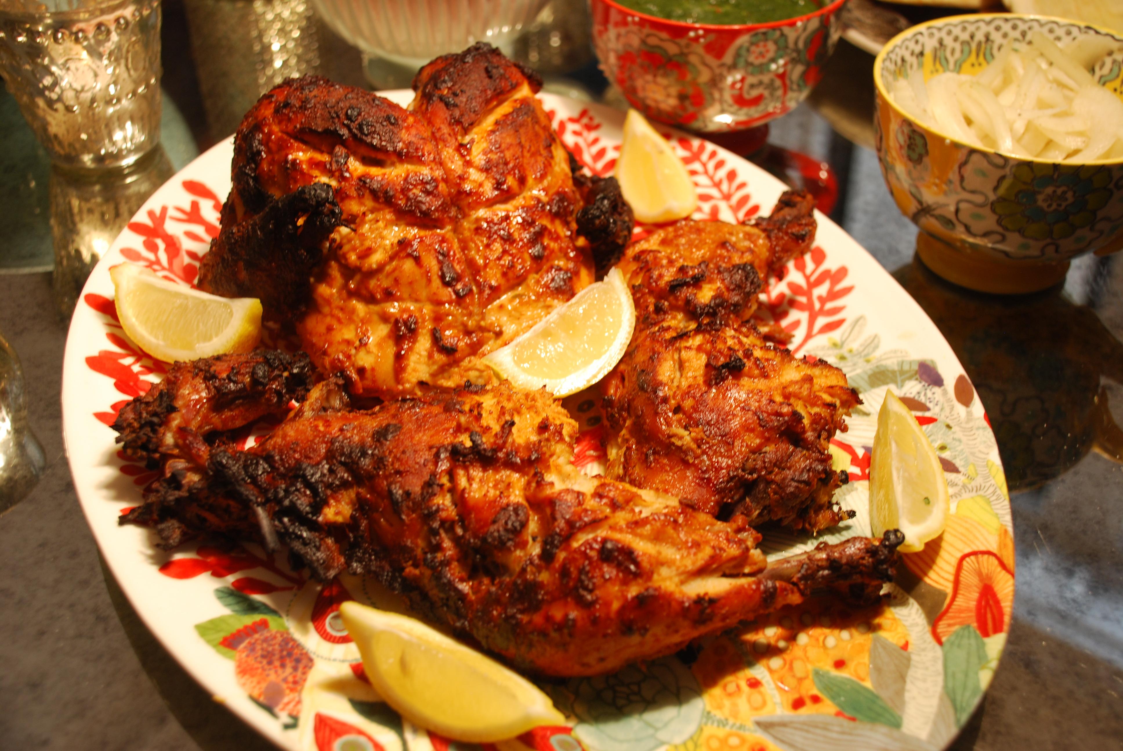 Tandoori kitchen - Dsc_0093 Dsc_0110 Dsc_0123 Dsc_0115 Dsc_0128 Tandoori Chicken